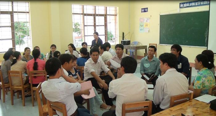 """Tiếp cận Chương trình giáo dục giới tính bằng phương pháp """"học sinh tích cực"""""""